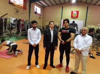 از اماکن ورزشی شهرستان بندرخمیر بازدید شد
