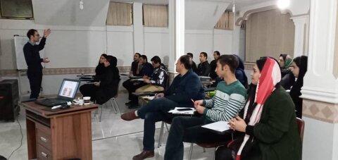 کارگاه آموزشی امدادگری ورزشی زنجان