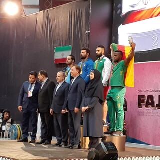 پوشش مسابقات بین المللی وزنه برداری جام فجر در گیلان
