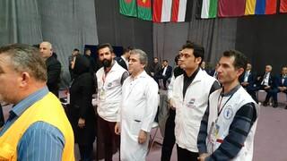 گزارش تصویری از مسابقات بین المللی وزنه برداری جام فجر در گیلان
