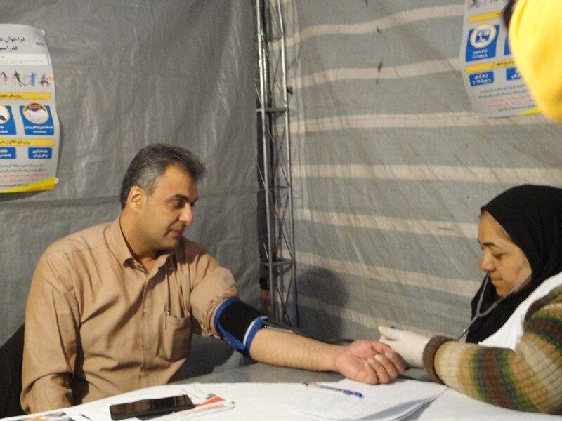 بازدید مدیرکل ورزش و جوانان استان کرمان از ایستگاه تندرستی