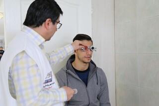 معاینات ملی پوشان شنا در ستاد پزشکی ورزشی آزادی