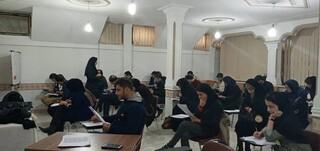 آزمون امدادگری هیات زنجان