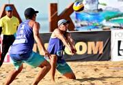پوشش پزشکی رقابت های جهانی تور سه ستاره والیبال ساحلی در بندرعباس