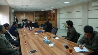 نشست کنترل و مقابله با ویروس کرونا در اماکن ورزشی با حضور مدیر کل ورزش جوانان