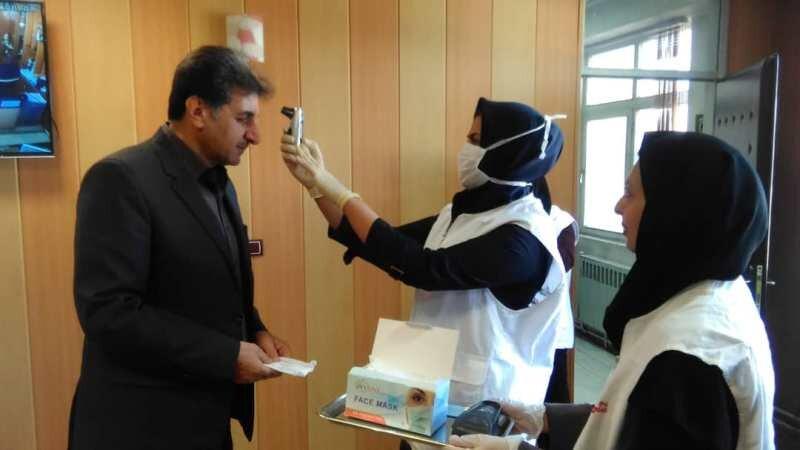 پایش سلامت کارکنان اداره کل ورزش و جوانان استان چهار محال وبختیاری