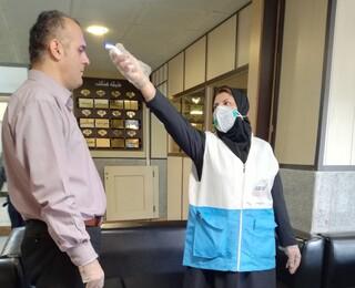 غربالگری پرسنل اداره کل ورزش و جوانان استان البرز توسط کادر پزشکی هیأت پزشکی ورزشی استان