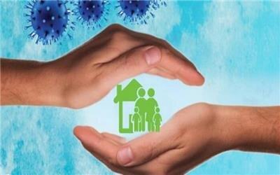 طرح های گرافیکی با مضمون در خانه ماندن برای مقابله با کرونا