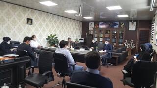 سومین جلسه ستاد مقابله یا کرونا استان زنجان