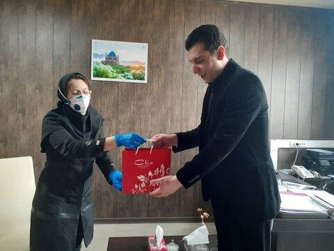 تب سنجی هیات در اداره ورزش وجوانان استان زنجان