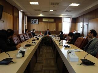 جلسه ستاد مقابله با کرونا در قزوین