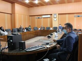 چهارمین جلسه ستاد کرونای قزوین