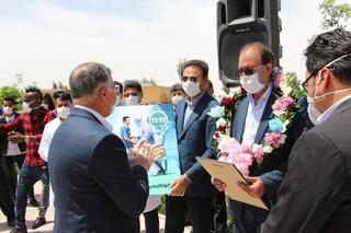 اقلام بهداشتی باشگاه گل گهر تحویل دو بیمارستان سیرجان شد