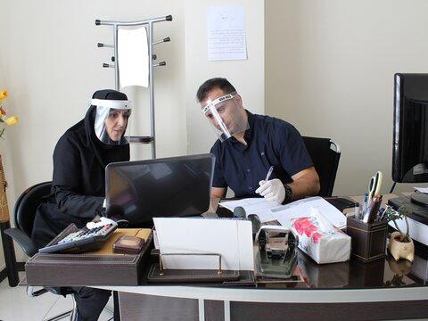 جلسه خدمات درمانی با ستاد نظارت