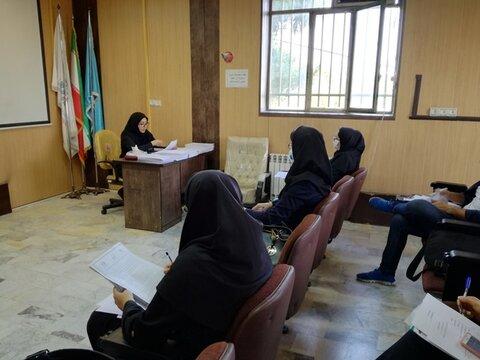 سومین نشست کمیته نظارت بر سلامت اماکن ورزشی استان البرز