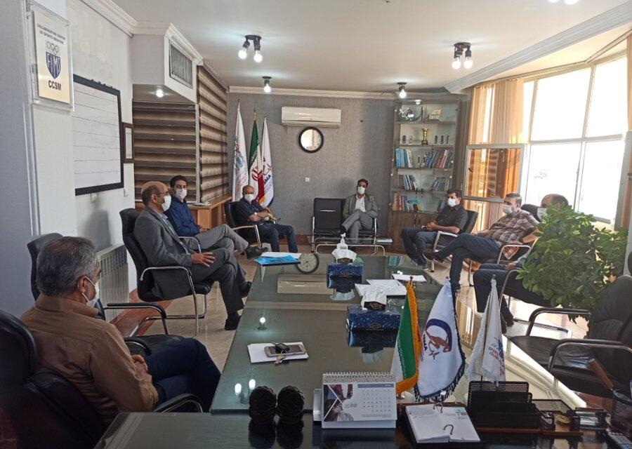 جلسه نمایندگان باشگاههای اصفهانی با هیات پزشکی ورزشی برگزار شد