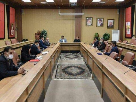 برگزاری نشست ستاد کرونا ورزش و جوانان استان البرز