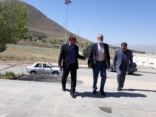 دکتر مسجدی از پایگاه قهرمانی استان چهار محال و بختیاری بازدید کرد