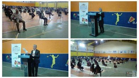 گردهمایی روسای هیاتهای ورزشی جهت بازگشایی اماکن ورزشی زنجان