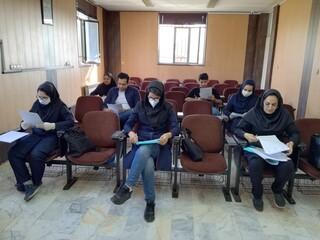 چهارمین نشست شورای مرکزی ستاد نظارت بر سلامت اماکن ورزشی استان البرز برگزار شد