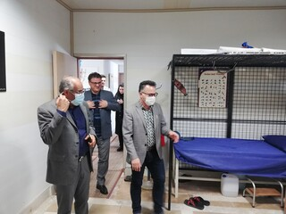 بازدید دکتر مسجدی و اشکانی از هیات پزشکی ورزشی استان اردبیل