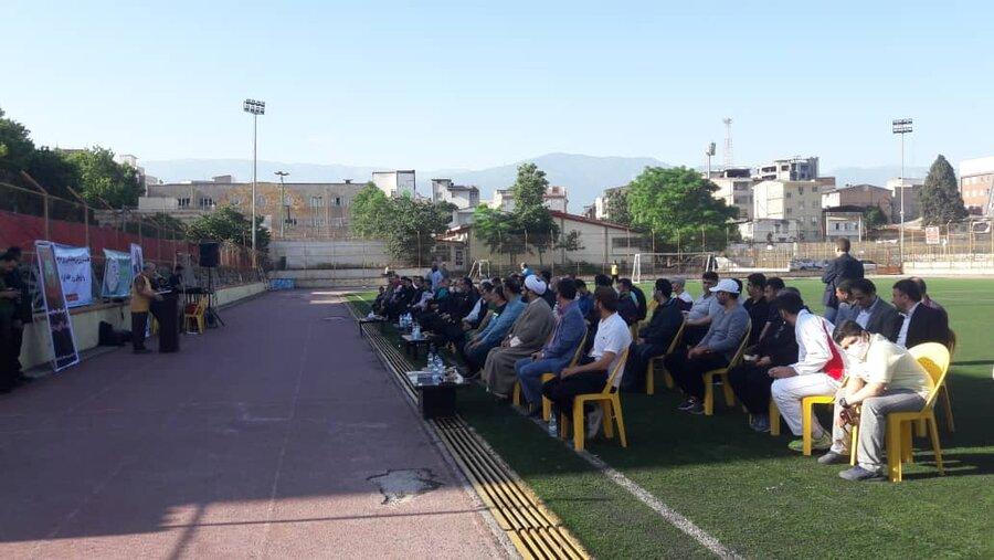 ارائه خدمات پزشکی ورزشی در همایش فرهنگ پهلوانی و ورزش زورخانه ای در گلستان