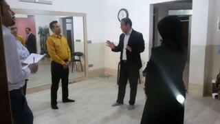 نظارت بر اجرای پروتکل های بهداشتی باشگاه های ورزشی اشکذر یزد
