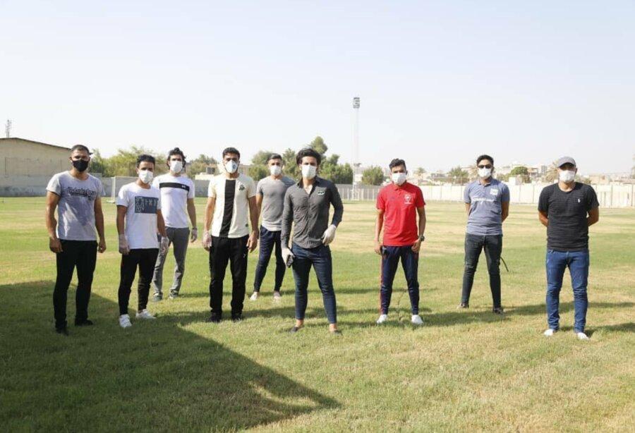 ابتلای  ۱۳ نفر از بازیکنان و کادر تیم فوتبال شهرداری بندرعباس به ویروس کرونا
