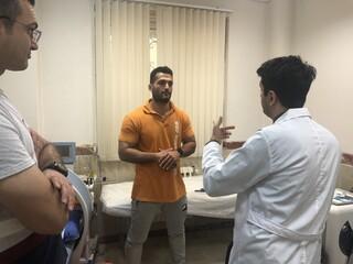 حضور کیوان رضاپور در هیات پزشکی استان گیلان