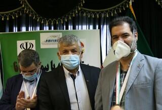 اهدای مدال و لوح قهرمانی به مجاهدان سلامت در فدراسیون پزشکی ورزشی