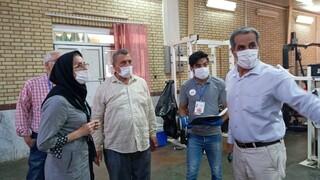 تمرین بدنسازی تیم شاهین شهرداری بوشهر