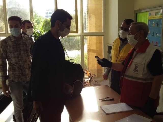 دیدار گل ریحان البرز- فجر سپاسی شیراز با نظارت افسر کنترل سلامت برگزار شد