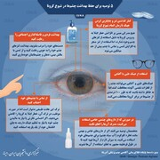 پنج توصیه برای حفظ بهداشت چشمها در دوران کرونا