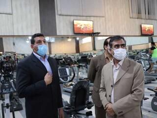 بازدید از باشگاه های ورزشی شهر کرمان