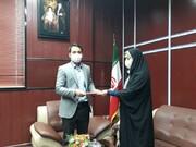 انتصاب مسئول کمیته آموزش هیات پزشکی ورزشی شهرستان آرادان