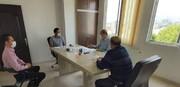جلسه هیات فوتبال استان با هیات پزشکی ورزشی استان آذربایجان غربی