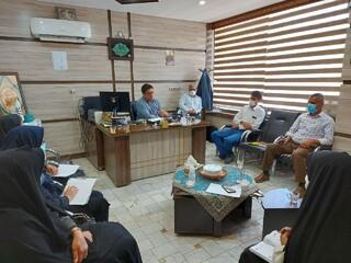 نشست مشترک مسئولان اداره ورزش و جوانان و بازرسان هیات پزشکی ورزشی