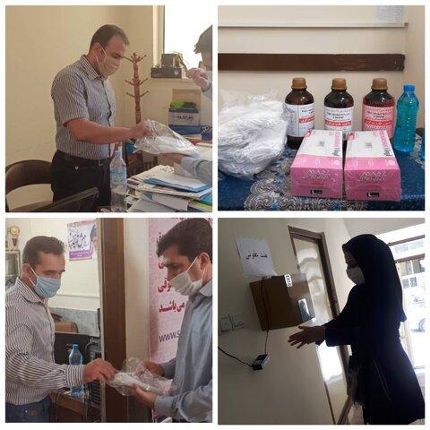 خرید و توزیع اقلام بهداشتی توسط هیئت پزشکی ورزشی استان ایلام