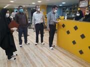 بازرسی ناظرین هیات پزشکی ورزشی استان مرکزی پس از بازگشایی اماکن ورزشی