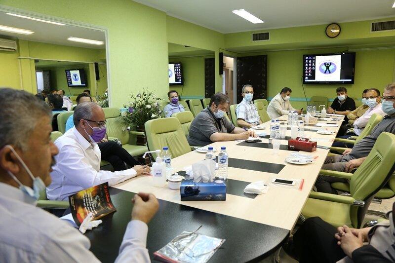 جلسه شورای مدیران فدراسیون پزشکی ورزشی