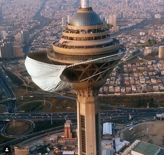 برج میلاد و کرونا