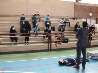 دوره آموزشی امدادگر ورزشی کرمان