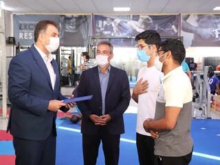 نظارت بر اماکن ورزشی شهر کرمان