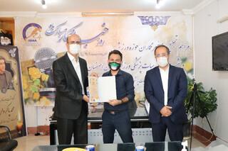 نشست خبری رئیس هیات پزشکی ورزشی استان اصفهان برگزار شد