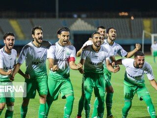 صعود تیم فوتبال آلومینیوم اراک به لیگ برتر