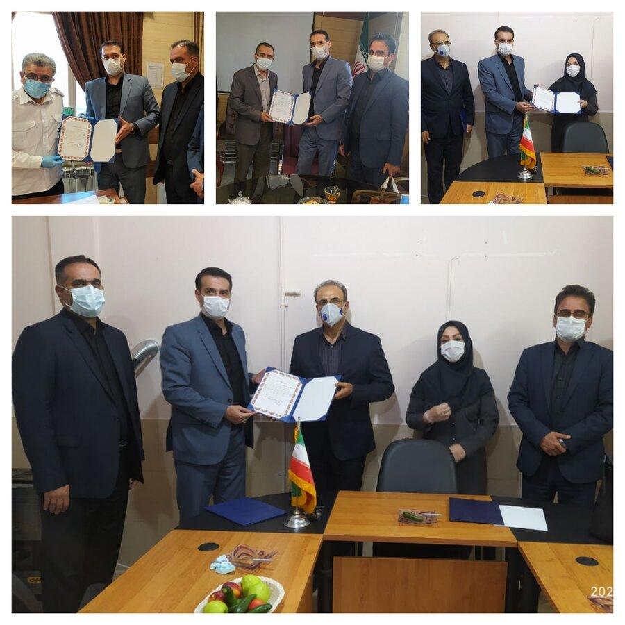 تجلیل از  پزشکان هیات های ورزشی استان لرستان