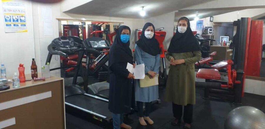 ادامه بازدیدهای هیئت پزشکی ورزشی استان ایلام از باشگاههای خصوصی