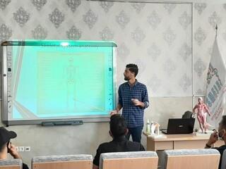 کارگاه آناتومی سطحی با حفظ پروتکل های بهداشتی در استان مرکزی برگزارگردید.
