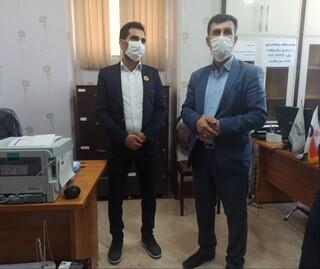 بازدید مدیر کل ورزش و جوانان استان از هیات پزشکی ورزشی