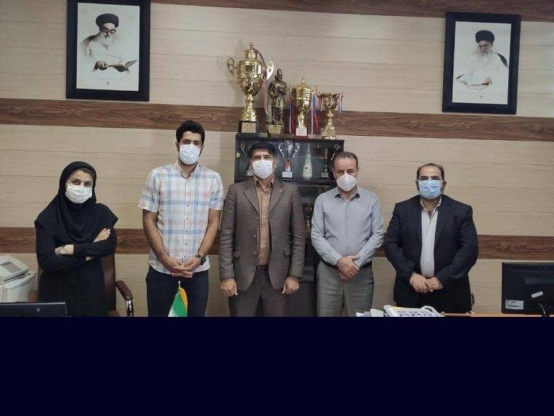 امضای تفاهمنامه همکاری هیات پزشکی ورزشی کردستان با دانشگاه آزاد اسلامی سنندج
